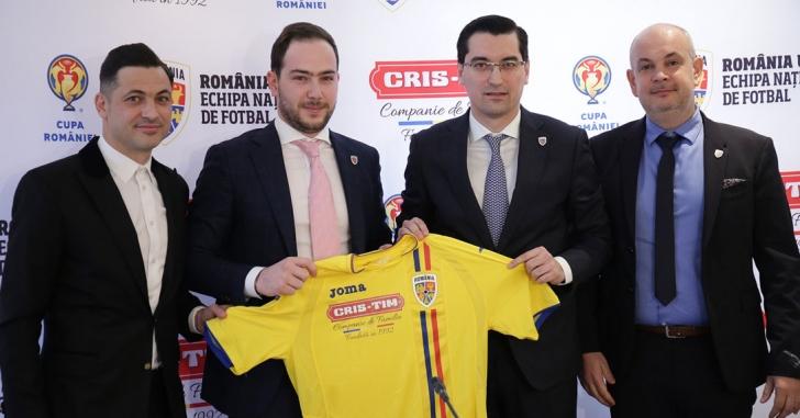 Grupul Cris-Tim susține Echipa Națională U21 și Cupa României în cadrul unui parteneriat oficial cu FRF