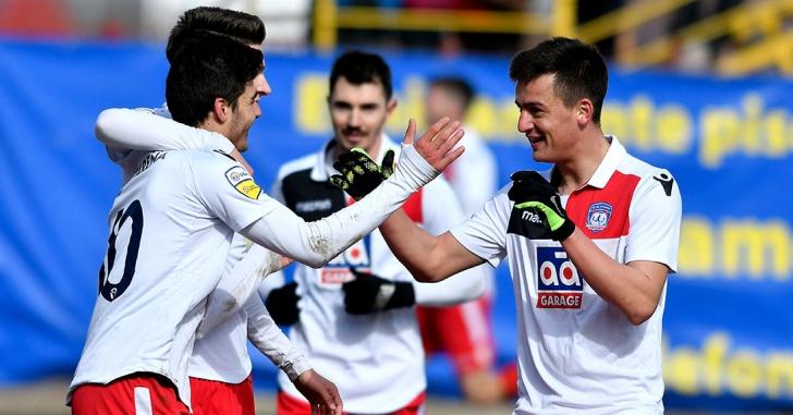 Liga 2: Victorie tranșată în primele 20 de minute
