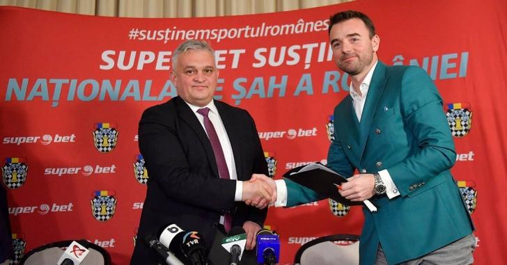 SUPERBET – sponsorul oficial al Federației Române de Șah