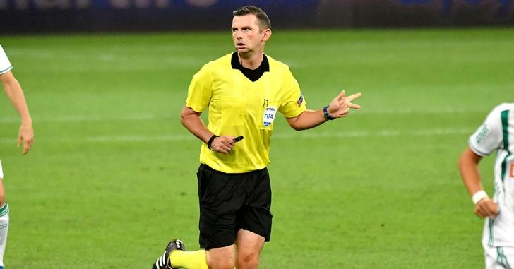 Meciul Suedia – România va fi arbitrat de o brigadă din Anglia