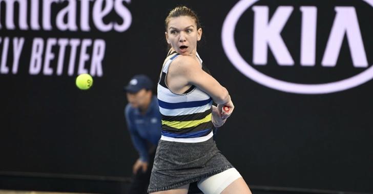 WTA Miami: Halep trece în turul 3, Buzărnescu este eliminată