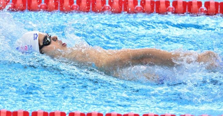 Robert Glință, un nou rezultat sub baremul olimpic la 100 m spate