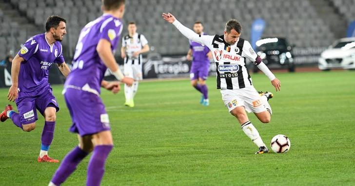 Liga 2: Trei meciuri fără gol