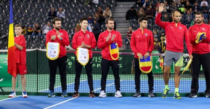 Echipa de Cupa Davis a României pentru meciul cu Zimbabwe