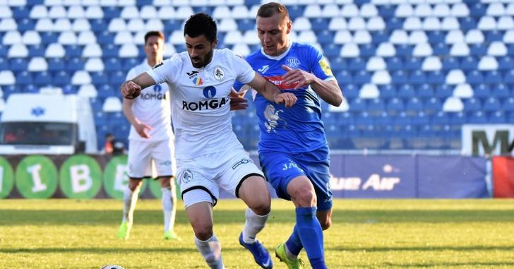 Liga 1: Trei goluri în opt minute decid meciul din Copou