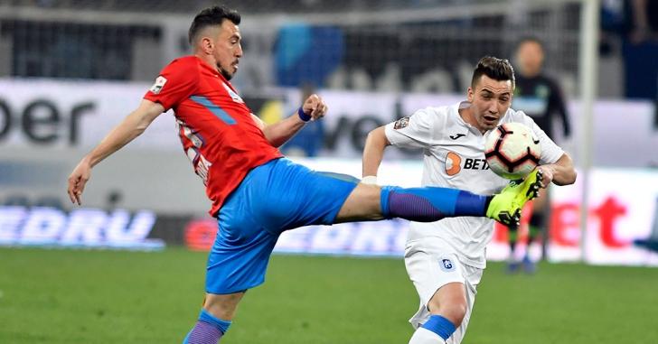 Liga 1: FCSB obține victoria care o menține în cursa pentru titlu