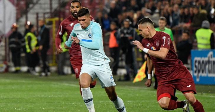 Liga 1: CFR Cluj și FCSB s-au anulat reciproc în Gruia
