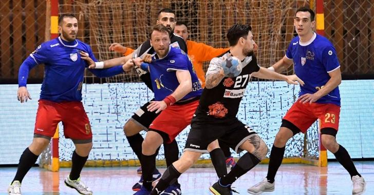 """LNHM: Dinamo câștigă în """"eternul derby"""""""