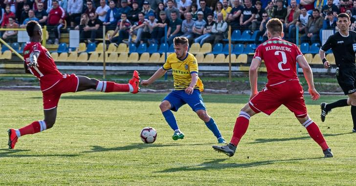 Liga 1: Dunărea ia trei puncte vitale