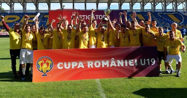 CFR Cluj a câștigat Cupa României U19