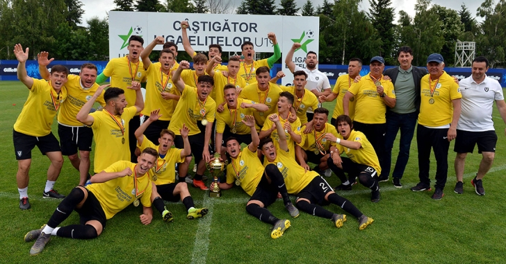 FC Viitorul câștigă Liga Elitelor U19 și va reprezenta România în Youth League