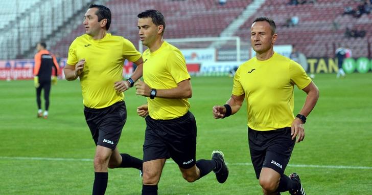 Ovidiu Hațegan și Radu Petrescu, delegați la meciuri internaționale