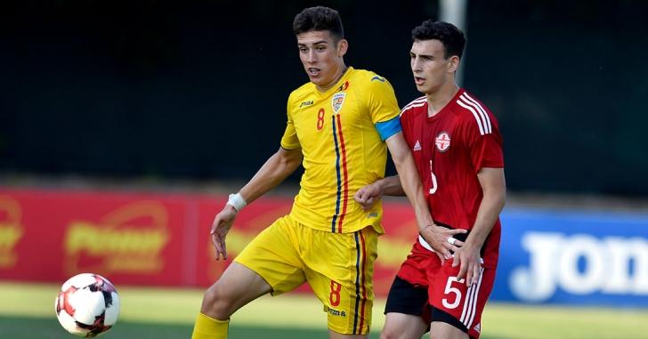 U18: România învinge Georgia într-un meci amical