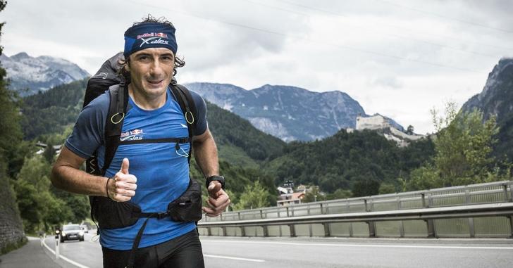 Toma Coconea se antrenează pe ghețari, în condiții extreme, pentru startul Red Bull X-Alps 2019
