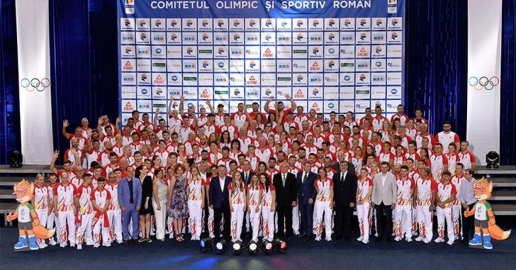 Echipa Olimpică a României care va participa la JE MINSK 2019 a fost prezentată oficial la Izvorani