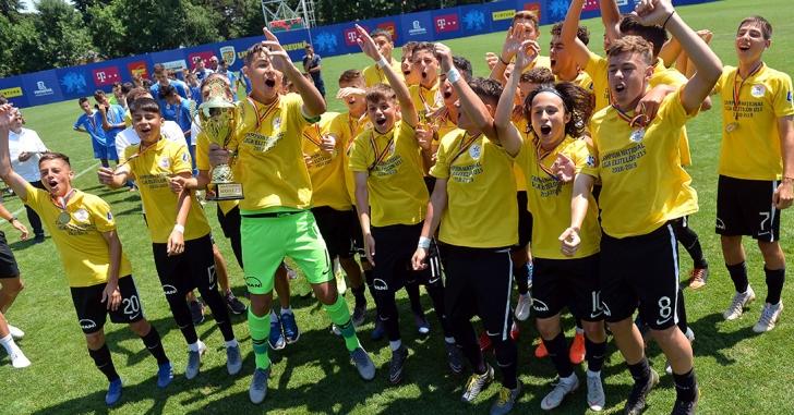 FC Viitorul câștigă și Liga Elitelor U15