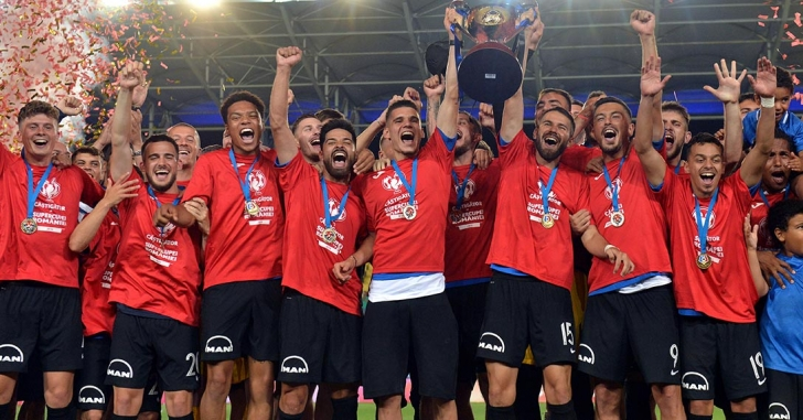 Viitorul câștigă Supercupa României și își completează vitrina de trofee