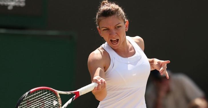 Wimbledon: Halep se califică en-fanfare în prima sa finală