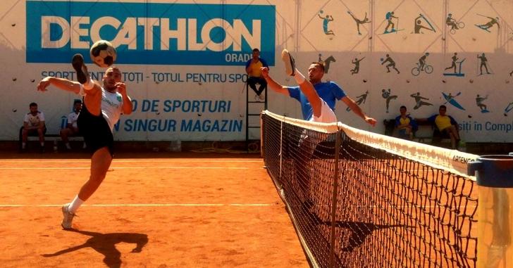 Campionatul României la Tenis cu Piciorul: Runda a treia are loc la Vatra Dornei