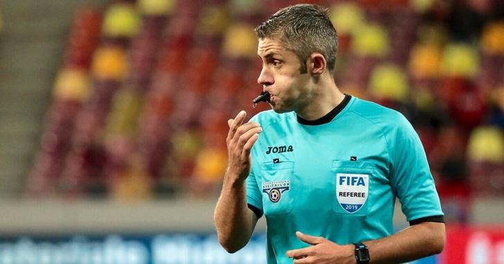 Petrescu și Feșnic arbitrează în preliminariile cupelor europene