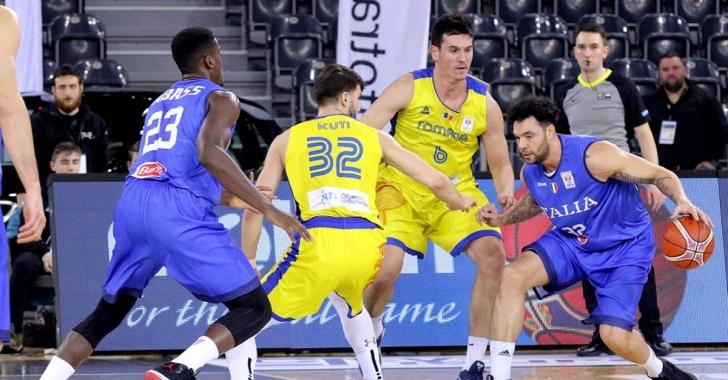 România a cedat în fața Italiei la Trentino Basket Cup 2019