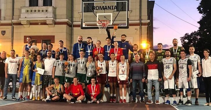 Știința București și Dinamo Știinta București au cucerit trofeele LNB 3x3