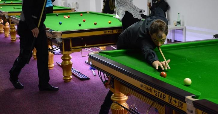 Spectacol snookeristic în București