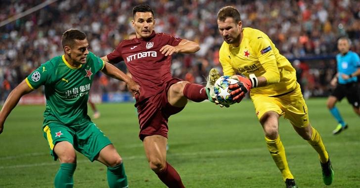 UCL: CFR Cluj pierde cu scor identic returul de la Praga