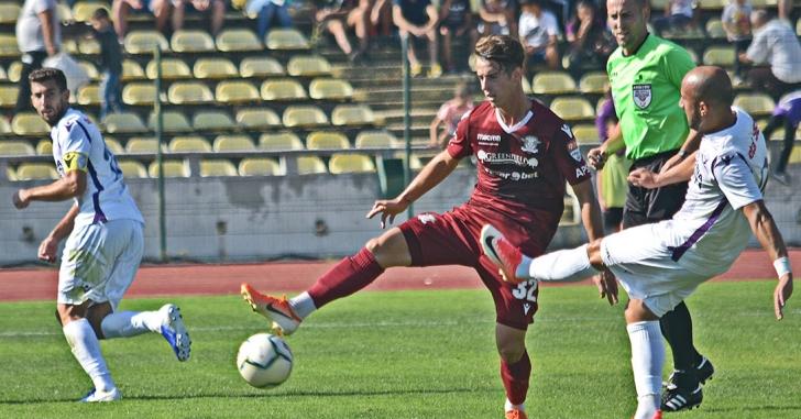 Liga 2: Rapid se impune în Trivale. CS Mioveni remizează la Arad