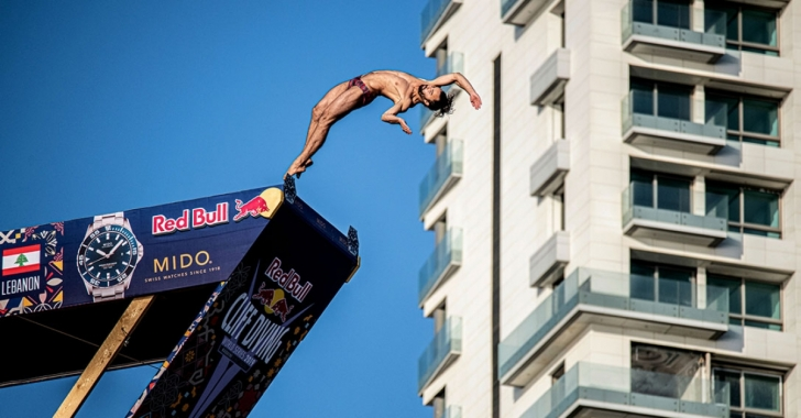 Final de sezon în Red Bull Cliff Diving