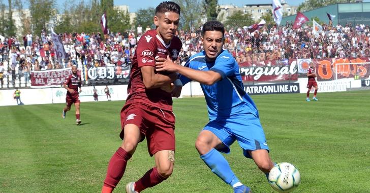 Liga 2: Rapid revine în două rânduri și se impune în fața Gloriei Buzău