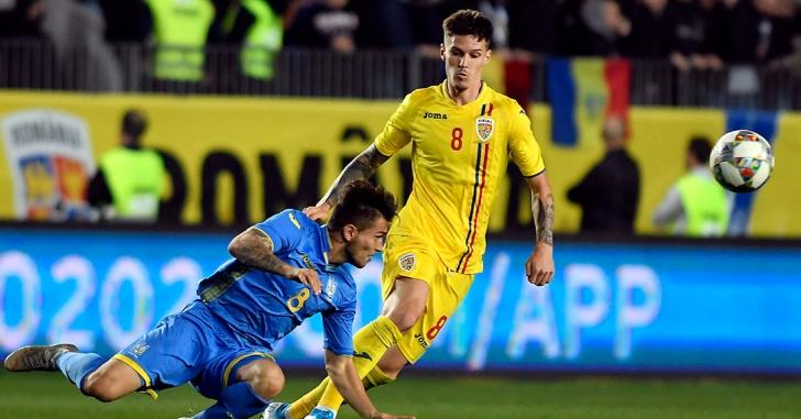 Preliminarii CE U21: România - Ucraina 3-0