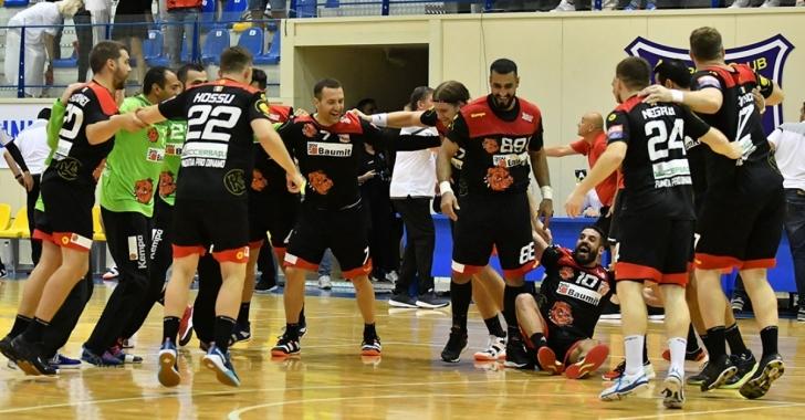 EHF Champions League: Dinamo își consolidează poziția de lider în Grupa D