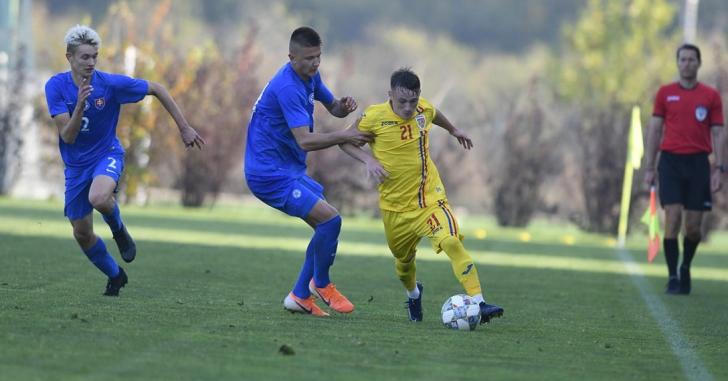 Tricolorii U18 pierd și al doilea amical disputat cu Slovacia