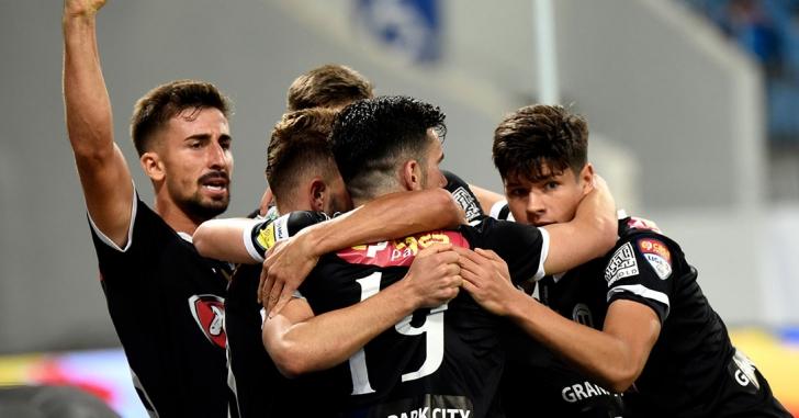 Liga 2: Clujenii câștigă primul meci pe noua arenă de la Tg. Jiu
