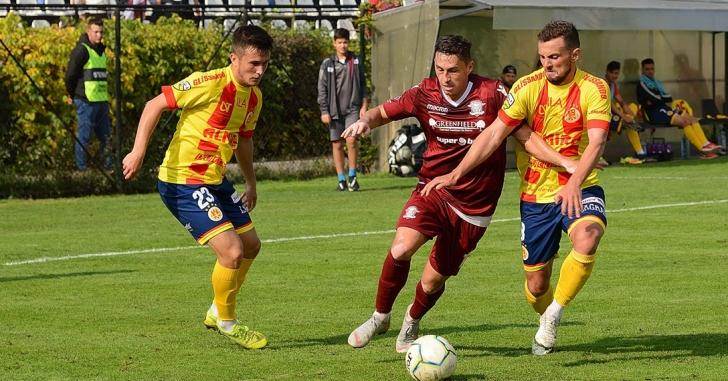 Liga 2: CS Mioveni, la prima înfrângere. Rapid remizează cu Ripensia