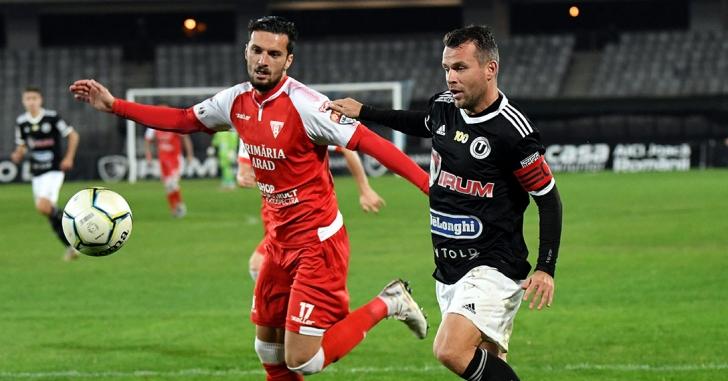 Liga 2: UTA remizează la Cluj. Piteștenii întorc scorul de la pauză