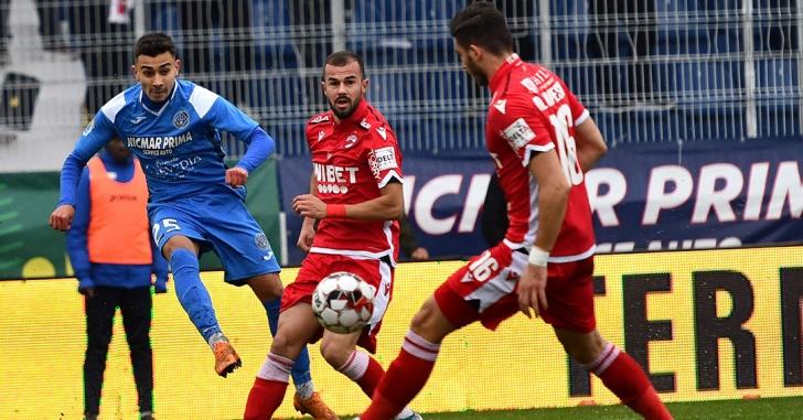 Liga 1: Patru goluri în prima repriză la Clinceni