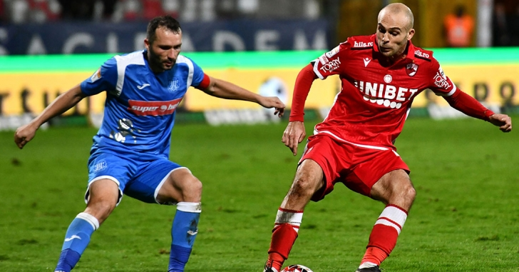 Liga 1: Dinamo se apropie la două puncte de play-off