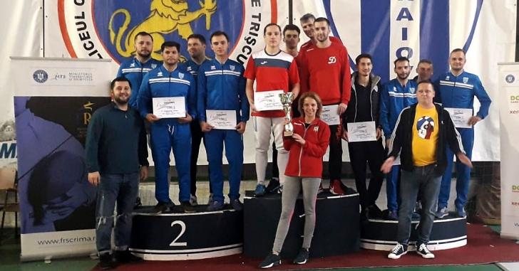 Cupa României la spadă – masculin, seniori, echipe