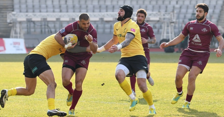 Rugby Europe Championship: România pregătește partida cu Georgia