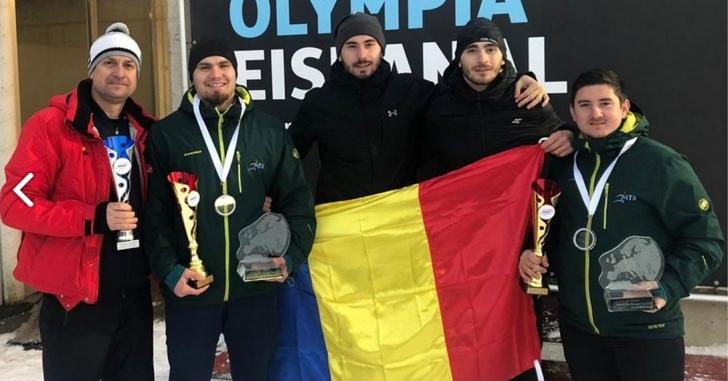 Mihai Tentea si Ciprian Daroczi, liderii clasamentului Cupei Europei la bob doua persoane
