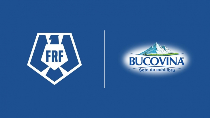 Brandul de apă minerală BUCOVINA, alături de FRF și Echipa Națională