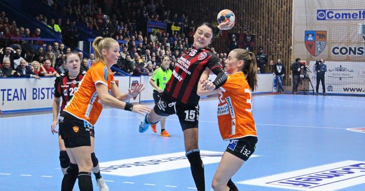 Cupa EHF: Gloria Bistrița, calificare dramatică în sferturile de finală