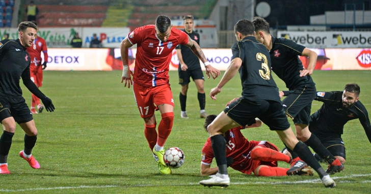 Liga 1: Răsturnare de scor și victorie a gazdelor la Botoșani