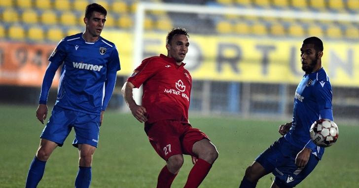 Liga 1: Pașcanu, eroul ilfovenilor în remiza cu FC Hermannstadt
