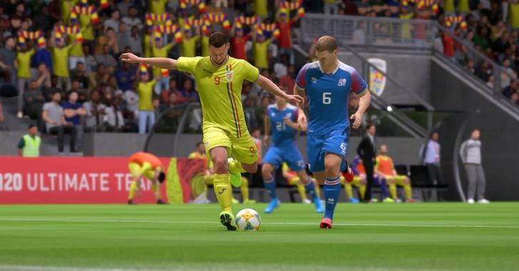 Play-off-ul pentru EURO s-a jucat în FIFA 20: România – Islanda 6-2