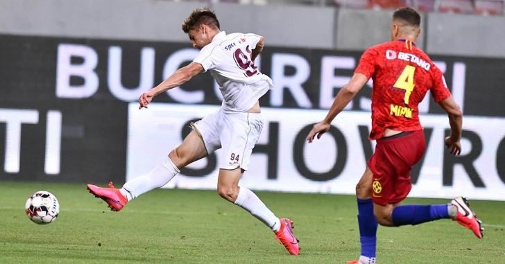 Liga 1: CFR ia punctele vitale în partida cu juniorii FCSB