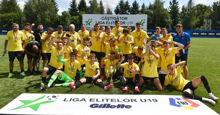 FC Viitorul este campioana Ligii Elitelor U19