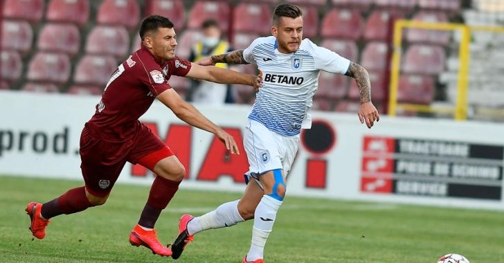 Meciul Universitatea Craiova – CFR Cluj va desemna reprezentanta României în Liga Campionilor